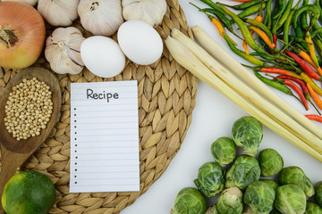 Cooking ingredient and vegetable