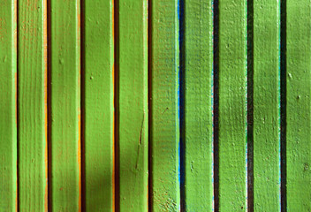 light green wooden wall texture.