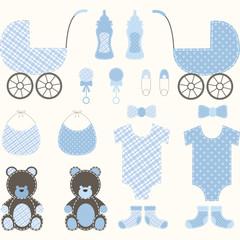 Baby Shower Boy Set