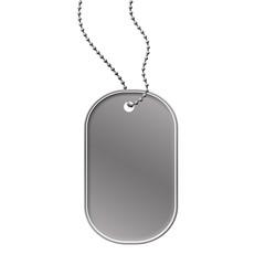 Military dog tag