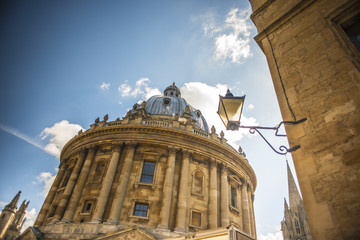 A view of the Radcliffe Camera in Oxford, England