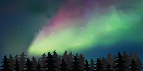 Background of Northern Lights