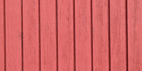 Widescreen size, red wood boards background