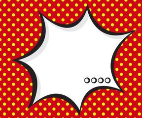 speech bubble pop art,comic book background