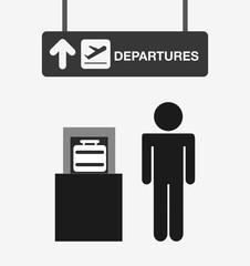 Fototapeta airport terminal design