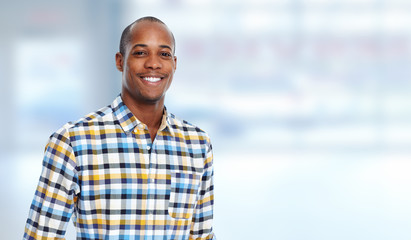 African-american man.