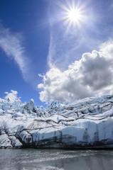 Sunshine on Matanuska Glacier, Alaska