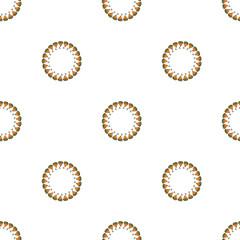 seamless pattern with a lemon