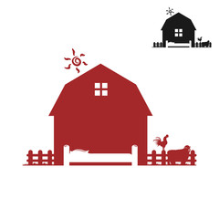 red barn image