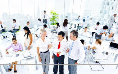 Business Meeting Collaboration Teamwork Brainstorming Concept