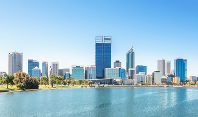 Perth view at the noon