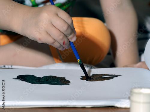 Нарисованная сова для фотошопа
