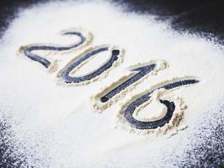 Inscription 2016 to flour