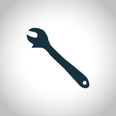 Wrench black icon