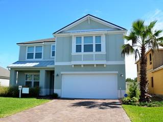 New home construction Florida, USA