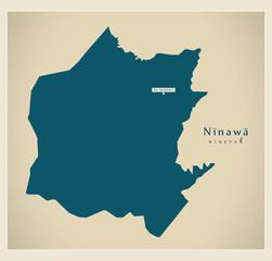 Modern Map - Ninawa IQ