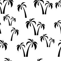 seamless black palms