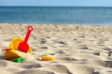Toys sea sand