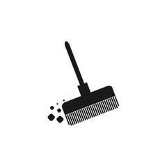 Broom vector icon