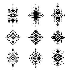 Vector Tribal Elements, Native American Ornament.