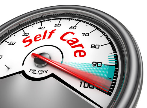Self care hundred per cent conceptual meter