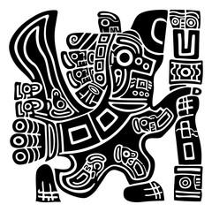 Aztec Eagle Warrior