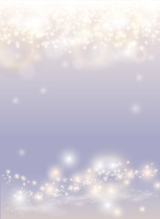 Wall Mural -  Abstract sparkling light magic background. Glow bright festive fantasy poster