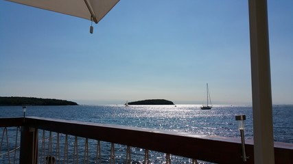 kroatische Strandbar