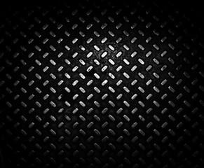 Metal tiles.