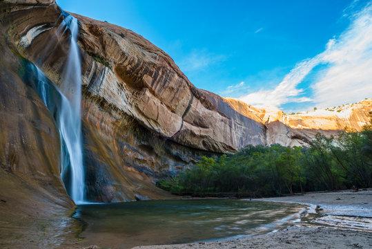 Calf Creek Falls, Calf Creek Canyon, Grand Staircase-Escalante N