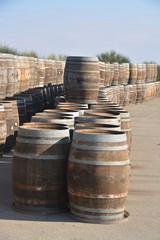 barricas de madera