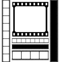 Film strip VECTOR icon.