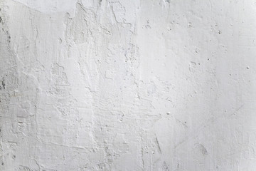 Grungy White Concrete Wall Background