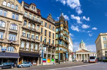 Buildings on Coudenberg in Brussells - Belgium