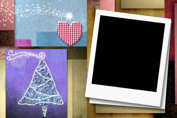 Cheerful Christsmas photo frames