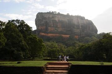 Ancient City of Sigiriya in Sri Lanka