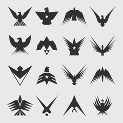 Military Eagles Insignia