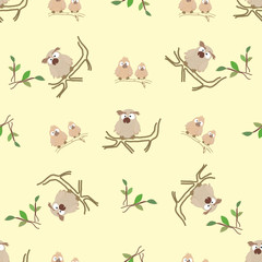 Background of owls