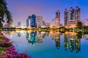 Bangkok at Benjakiti Park