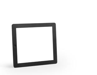 modern black tablet