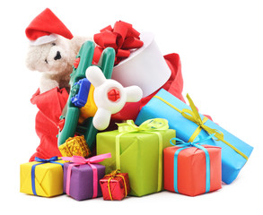Bag of gifts.