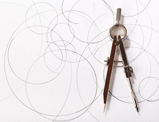 compass drawing