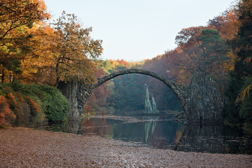 Rakotz bridge in Kromlau