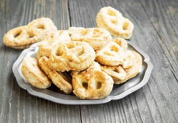Salted Cheese Pretzels