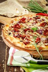 Italian Wood oven pizza