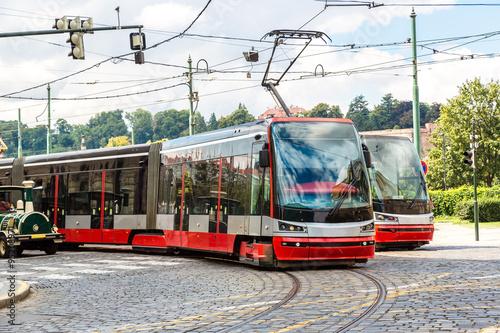 old tram prague street - photo #8
