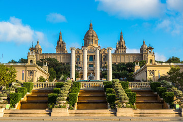 National Museum in Barcelona