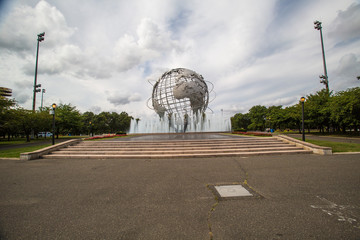 NEW YORK - September 8: View of Flushing Meadows-Corona Park Uni