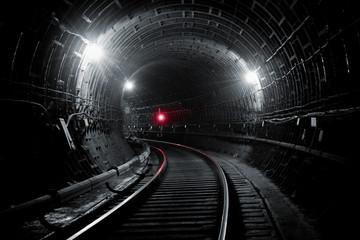 Kiev subway tunnel