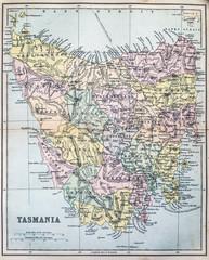 Map of Colonial Tasmania